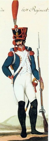 Un uniforme de grenadier sous l'Empire en 1807