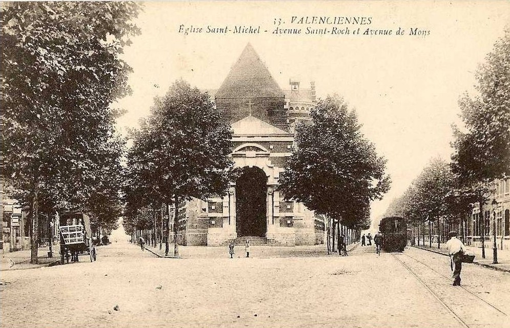 église saint michel valenciennes